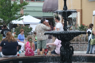 June 14, 2007, in downtown Sanford, Florida, at the city's monthly second-Thursday street festival beginning at 5 p.m.